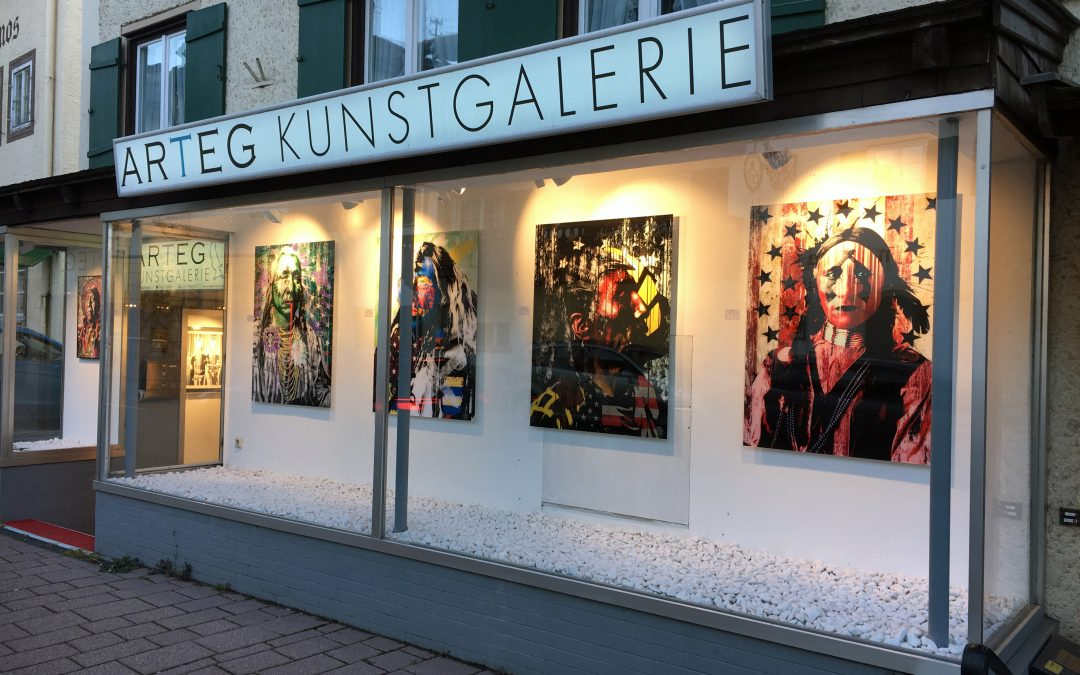 Denkstahl Ausstellung @ ARTEG Kunstgalerie in Tegernsee