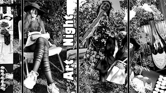 Denkstahl @ Black & White Art Night